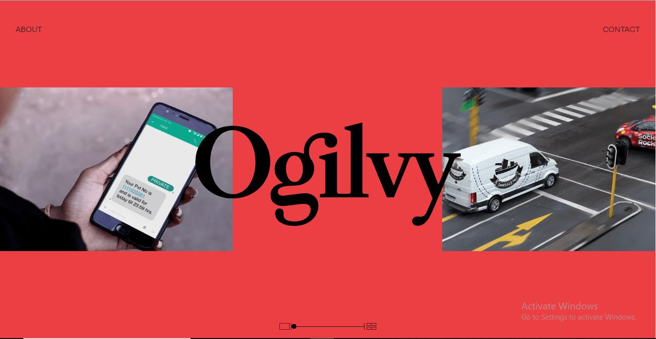 Website của Ogilvy