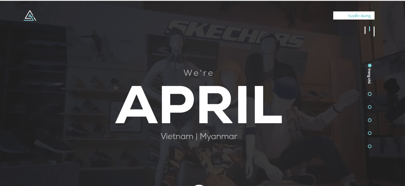 Website của April Digital