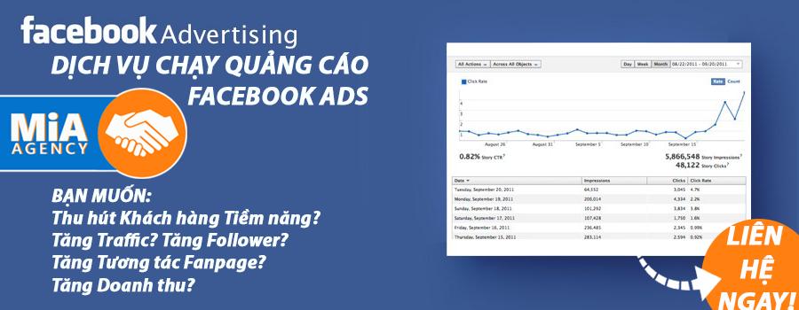dịch vụ quảng cáo facebook giá rẻ
