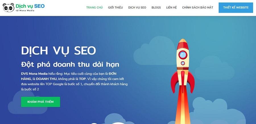 Dịch vụ seo của DVS