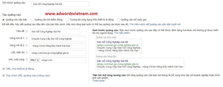 Tài liệu hướng dẫn sử dụng quảng cáo google adwords hiệu quả