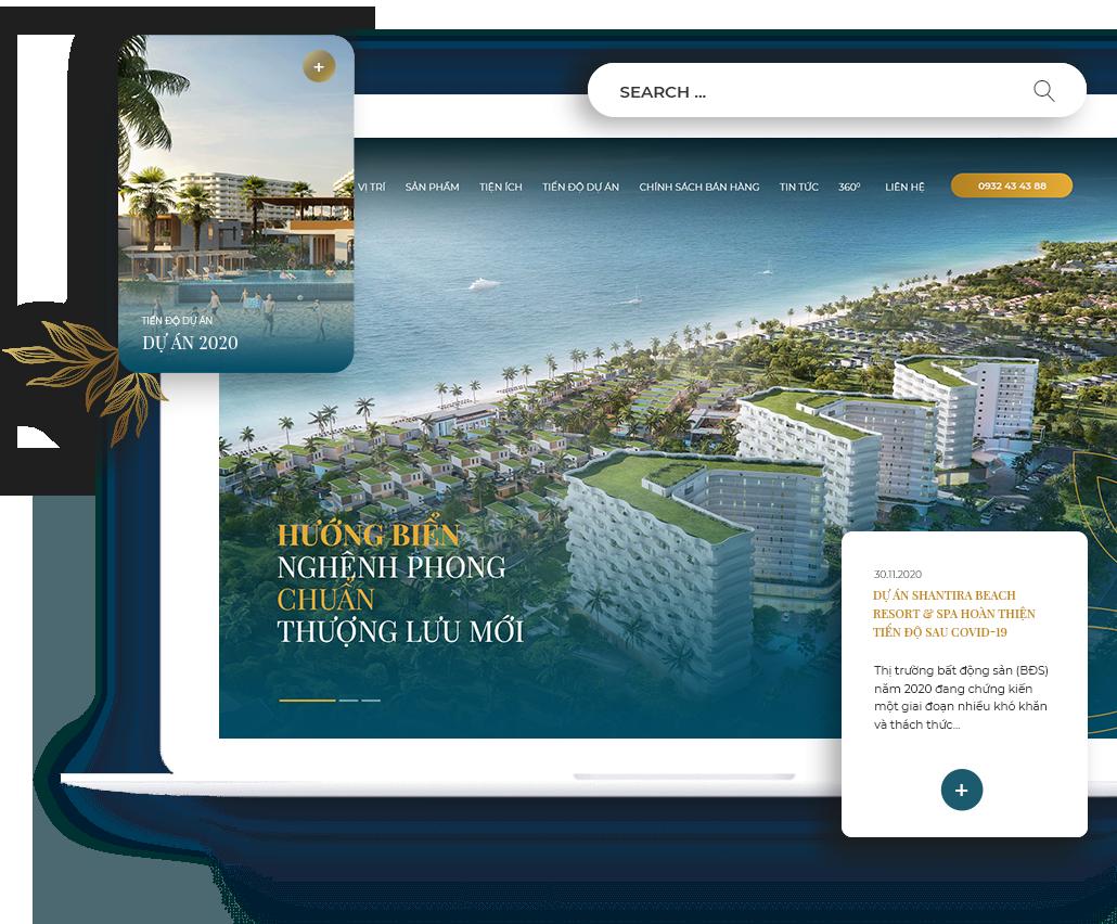 Thiết kế website bất động sản giá tốt, chuyên nghiệp   Thiết kế website BĐS  Thuỷ Thủ